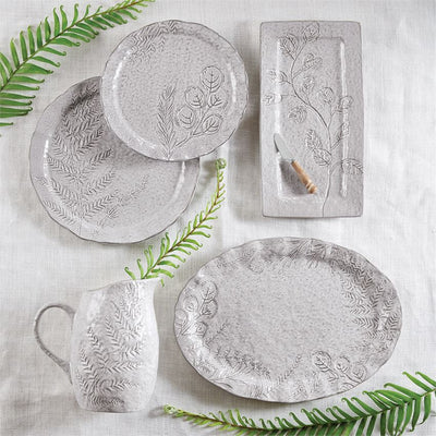 botanical stoneware full set mud pie