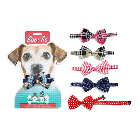 bow-tie-dog-pet-navy-blue-polka-dot-plaid-red-stripes-pink-black