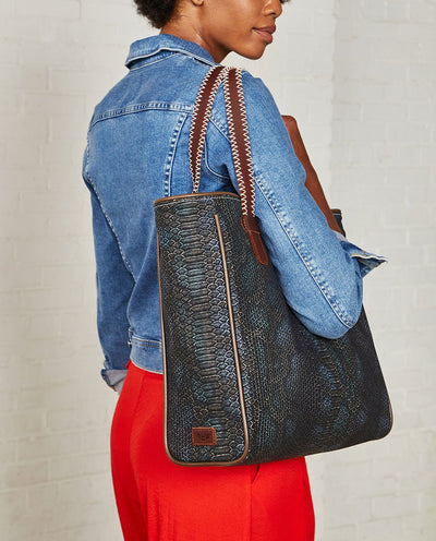 consuela classic tote rattler snake
