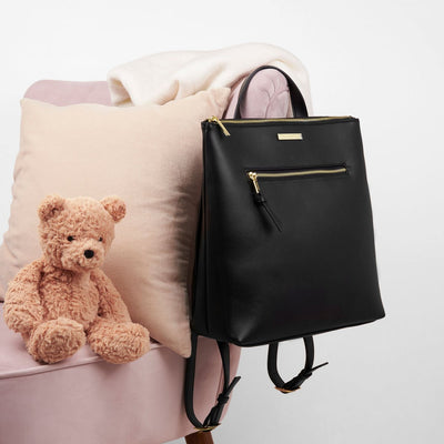 katie loxton baby changing backpack black