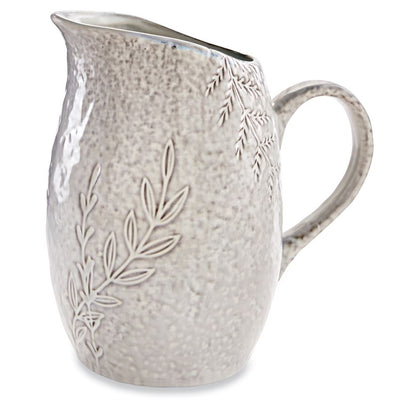 mud pie botanical pitcher kitchen