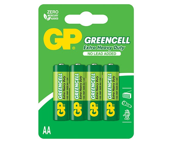 GP Greencell Carbon Zinc AA