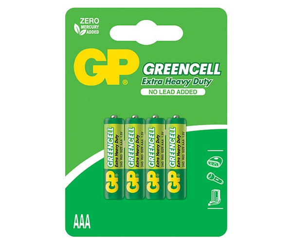 GP Greencell Carbon Zinc AAA