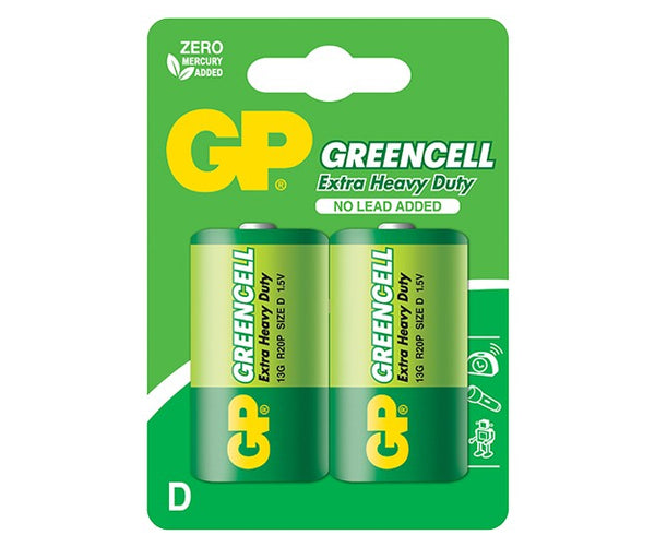 GP Greencell Carbon Zinc D