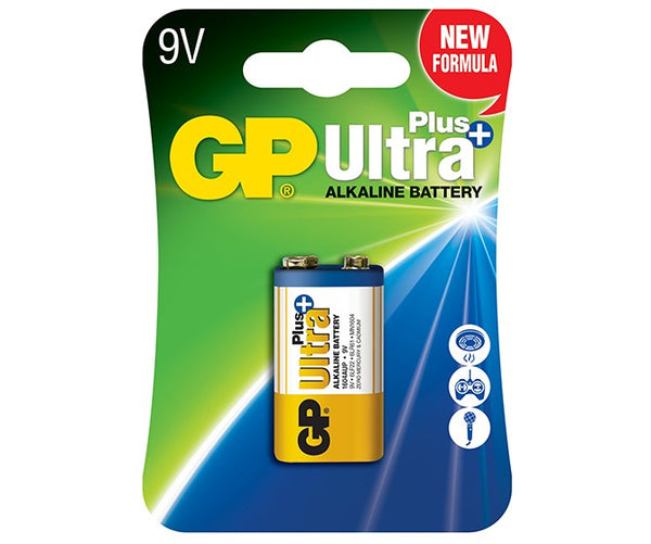 GP Ultra Plus Alkaline 9V