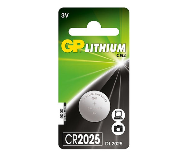 GP Lithium Cell Battery - CR2025