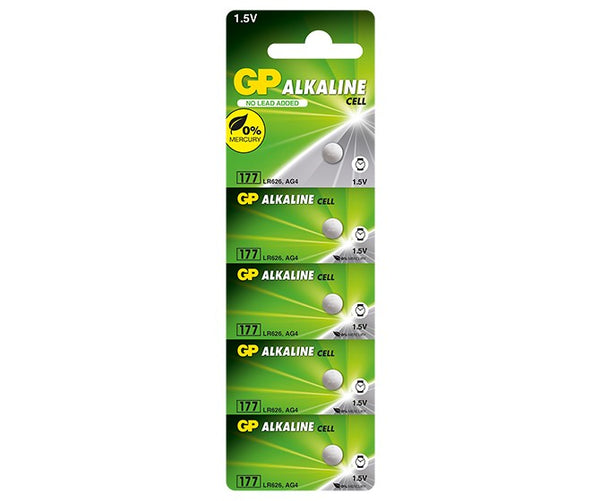 GP Alkaline Cell Battery - 177F