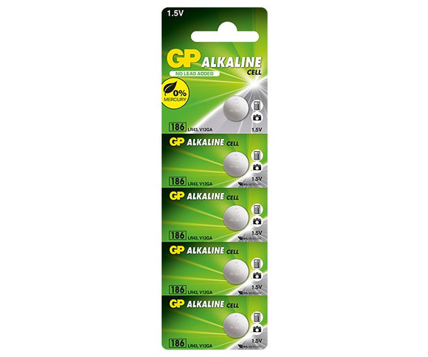 GP Alkaline Cell Battery - 186