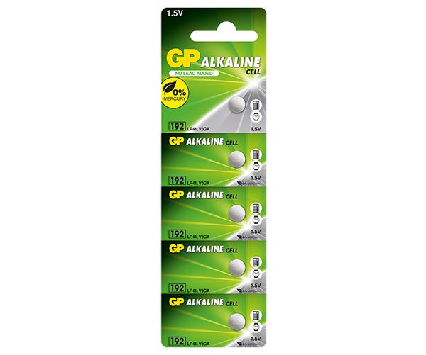 GP Alkaline Cell Battery - 192F