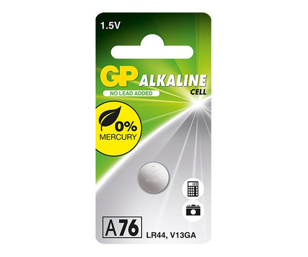 GP Alkaline Cell Battery - A76