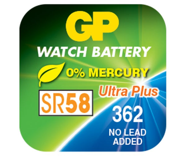 GP Silver Oxide Battery - 362