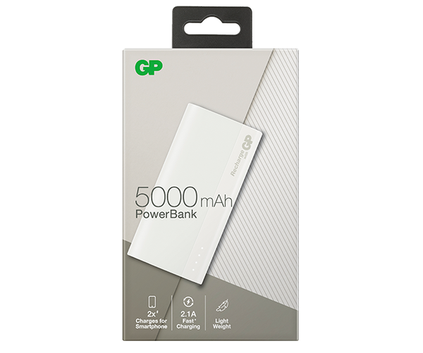 B-Series PowerBank B05A 5000mAh – Shadow White