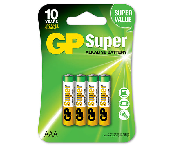 GP Super Alkaline AAA