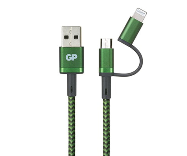 15CM 2-in-1 (Lightning / Micro-USB) Charge & Sync Cable - CX0A