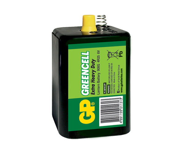 GP Greencell Carbon Zinc Lantern Batteries - 908