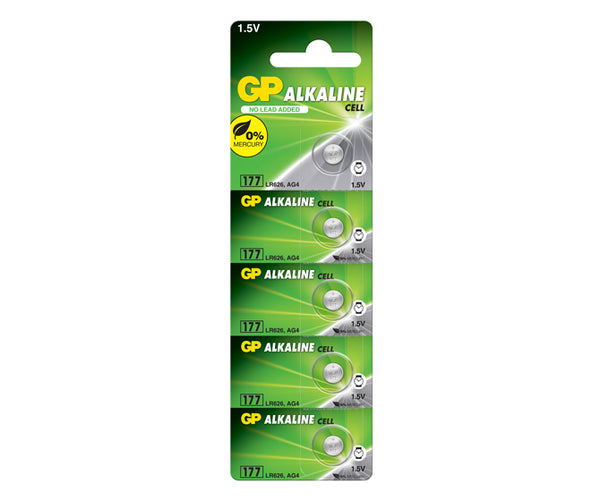GP Alkaline Cell Battery 177
