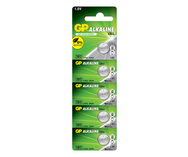 GP Alkaline Cell Battery 191