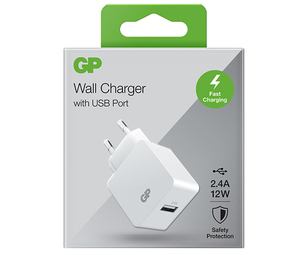 Wall Charger WA23 Single USB-A