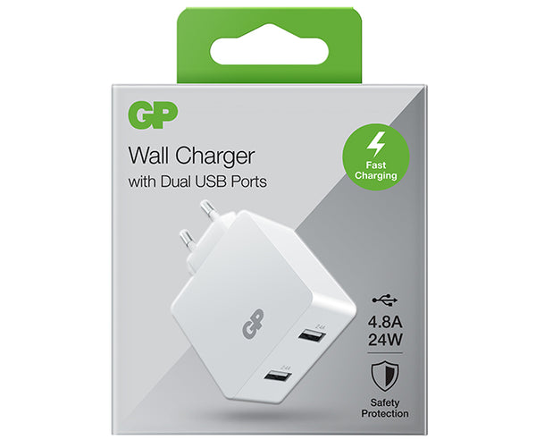 Wall Charger WA42 Dual USB-A