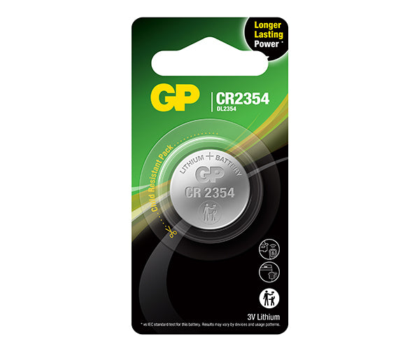 GP Lithium Coin Batteries CR2354