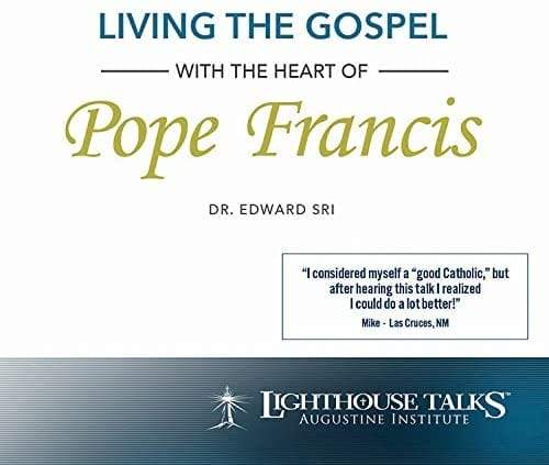 CD - Living the Gospel with the heart of Pope Francis - A Lost Sheep Catholic Store