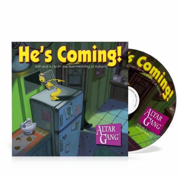 He's Coming! - Altar Gang audio CD Vol 1 - A Lost Sheep Catholic Store
