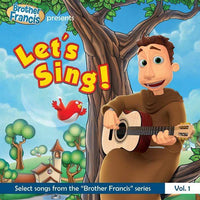 "Let's Sing! - Select Songs from the ""Brother Francis"" Series - A Lost Sheep Catholic Store"