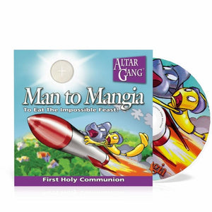 Man to Mangia - Altar Gang audio CD Vol 3 - A Lost Sheep Catholic Store