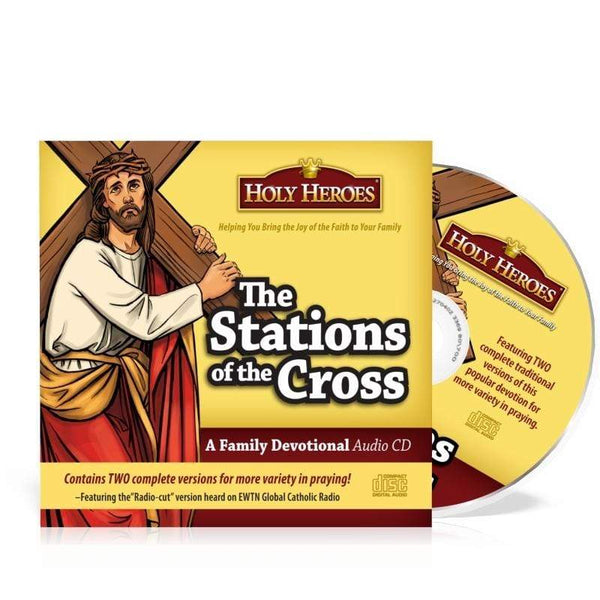 The Stations of the Cross: Holy Heroes CD - A Lost Sheep Catholic Store