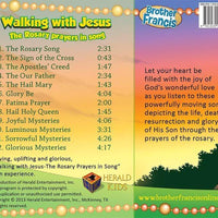 Walking with Jesus: The Rosary Prayers in Song - A Lost Sheep Catholic Store