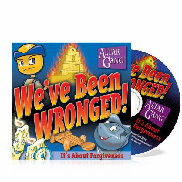 We've Been Wronged! - Altar Gang audio CD Vol 2 - A Lost Sheep Catholic Store