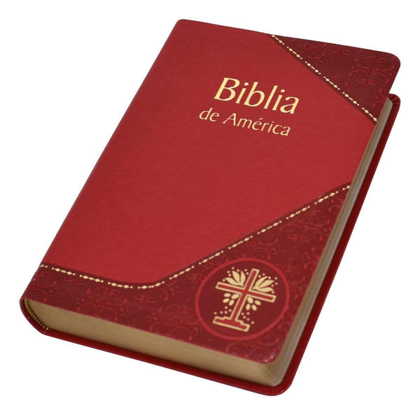 Biblia de America, Spanish Bible - DURA-LUX Binding - A Lost Sheep Catholic Store
