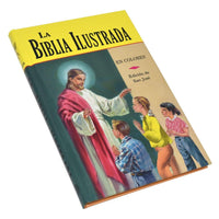 La Biblia Ilustrada, Illustrated Spanish Bible - A Lost Sheep Catholic Store