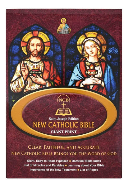 St. Joseph New Catholic Bible (Giant Type) - A Lost Sheep Catholic Store