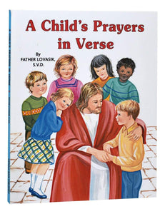 A Child's Prayers In Verse - A Lost Sheep Catholic Store