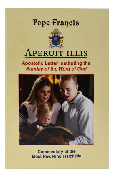 Aperuit illis Apostolic Letter Instituting The Sunday Of The Word Of God - A Lost Sheep Catholic Store