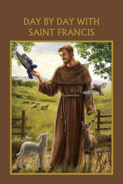 Aquinas Press® Prayer Book - Day By Day With St. Francis - A Lost Sheep Catholic Store