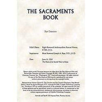 Aquinas Press® Prayer Book - Sacraments Of The Church - A Lost Sheep Catholic Store