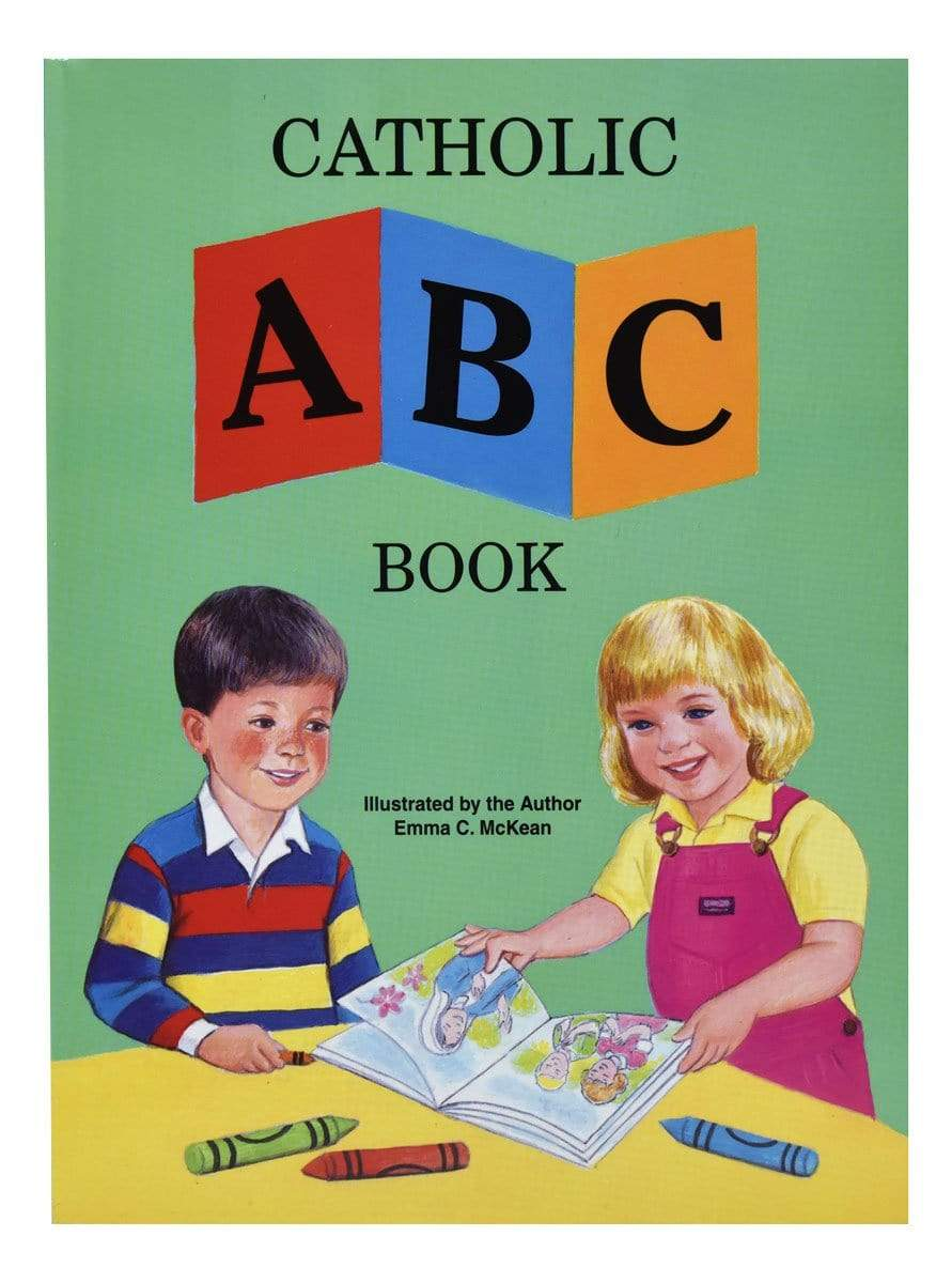 Catholic ABC Book - A Lost Sheep Catholic Store