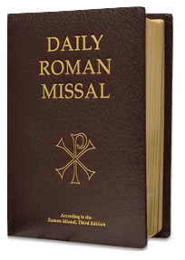 Daily Roman Missal, 7th Edition (Bonded Leather, Burgundy) - A Lost Sheep Catholic Store