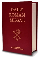 Daily Roman Missal, 7th Edition (Hardcover, Burgundy) - A Lost Sheep Catholic Store