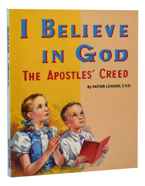 I Believe In God The Apostles' Creed - A Lost Sheep Catholic Store