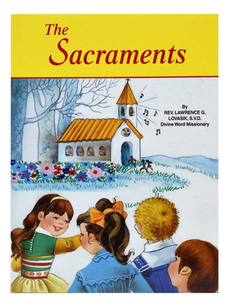 The Sacraments - A Lost Sheep Catholic Store