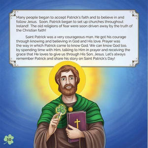 The Story of Saint Patrick - A Lost Sheep Catholic Store