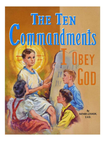 The Ten Commandments I Obey God - A Lost Sheep Catholic Store