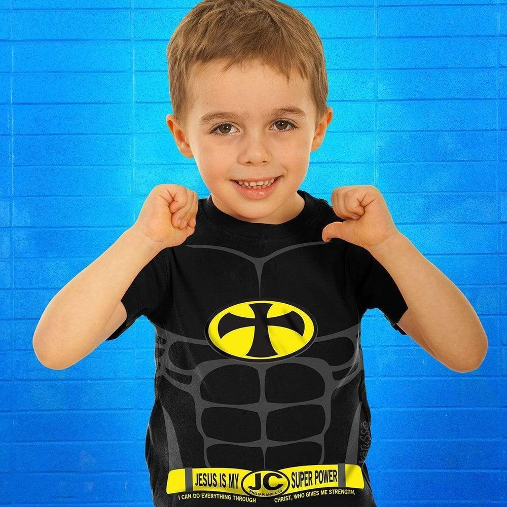 Super Power 2 Kids T-Shirt ™ - Small Only - A Lost Sheep Catholic Store