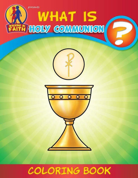 Coloring Book: What is Holy Communion? (Brother Francis) - A Lost Sheep Catholic Store