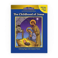 Holy Heroes Coloring Book: The Childhood of Jesus - A Lost Sheep Catholic Store