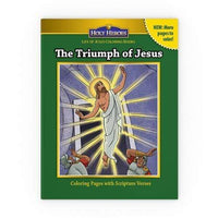 Holy Heroes Coloring Book: The Triumph of Jesus - A Lost Sheep Catholic Store