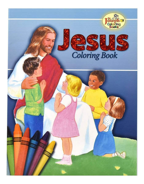 Jesus Coloring Book - A Lost Sheep Catholic Store